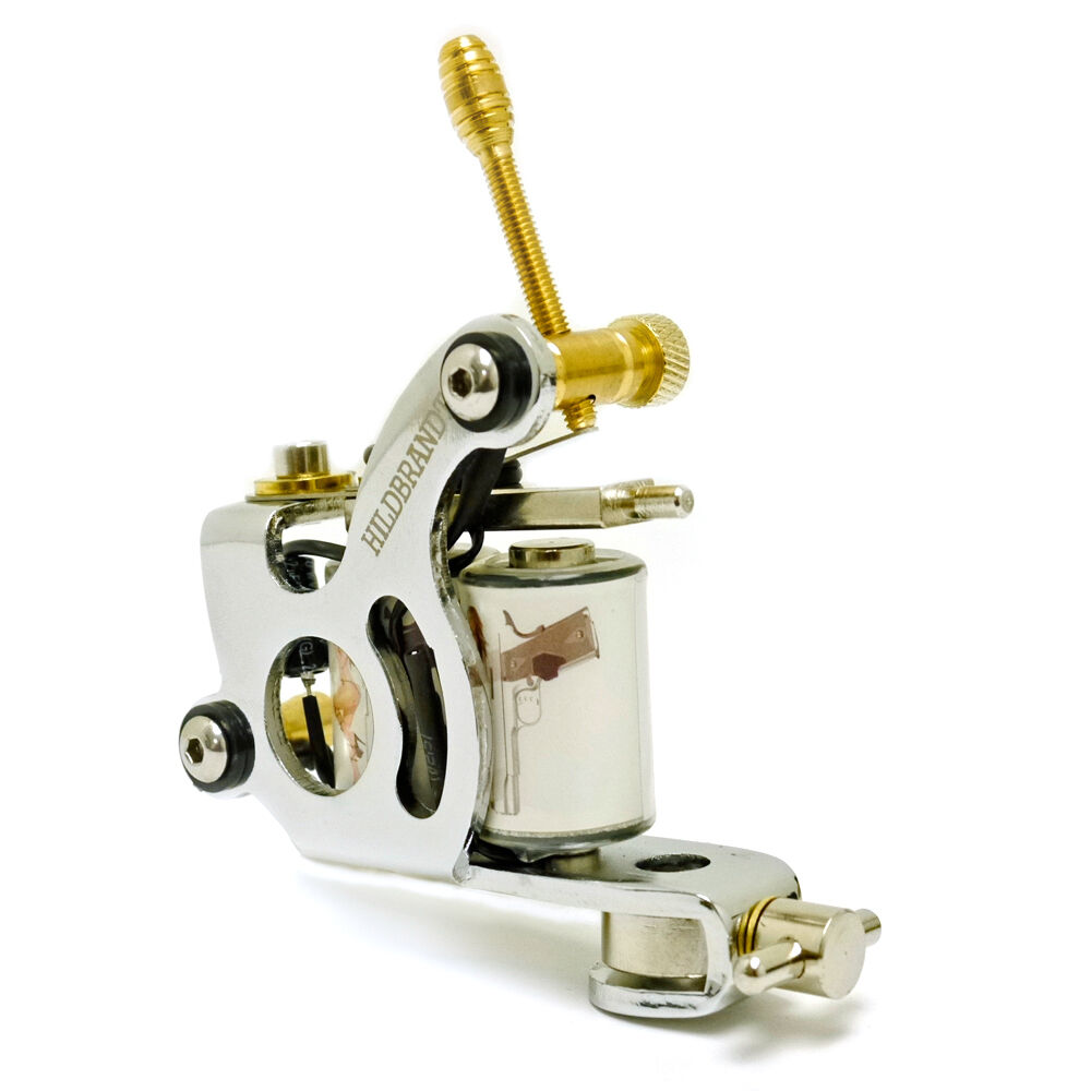 Hildbrandt 22 rimfire tattoo machine 10 wrap liner tatoo for Tattoo gun parts