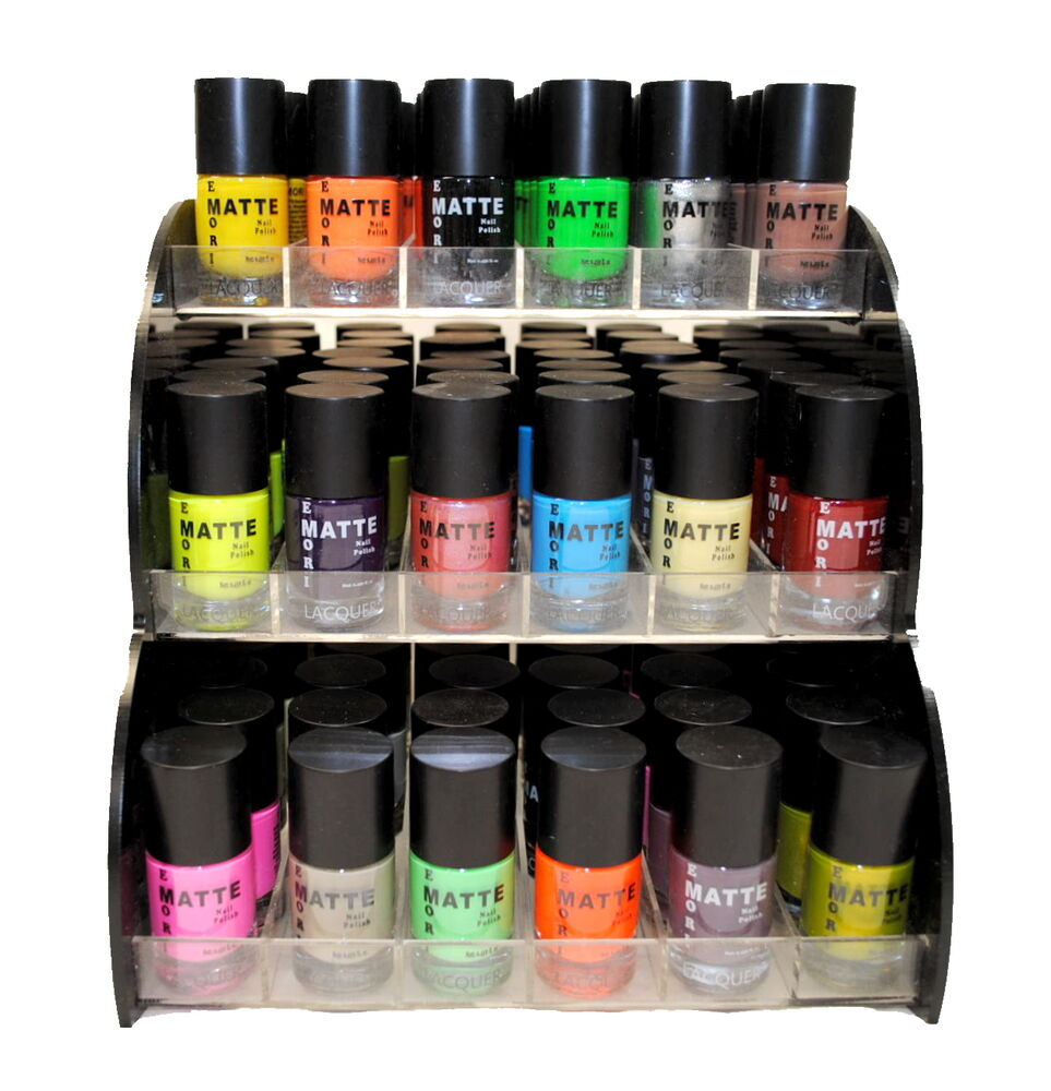 18 Matte Color Stylish Nail Lacquer Nail Polish Combo Set