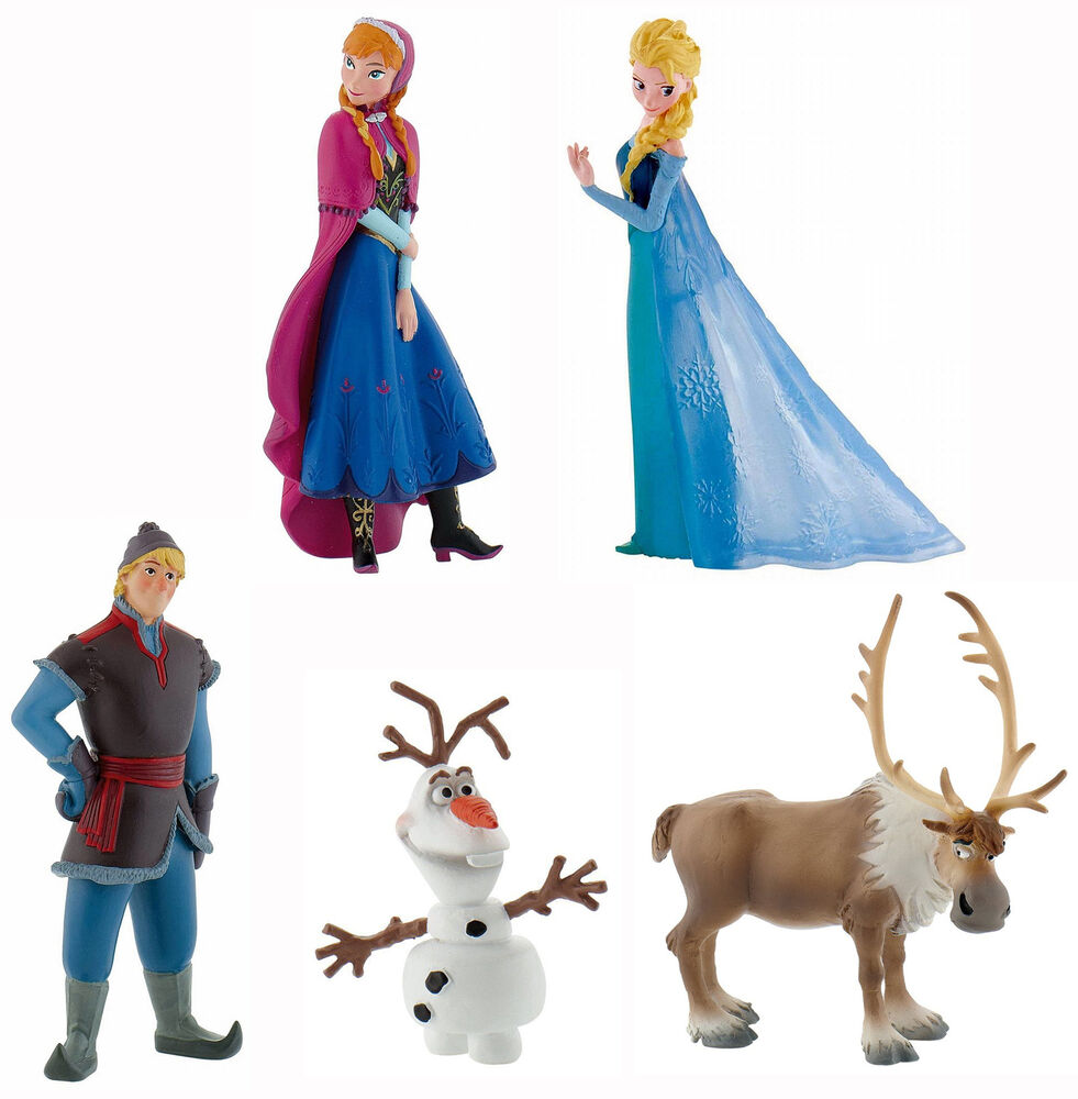 Disney Frozen Figures Cake Toppers