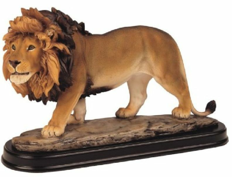 Wild Lion Statue Home Decor Figurine Sculpture Animal