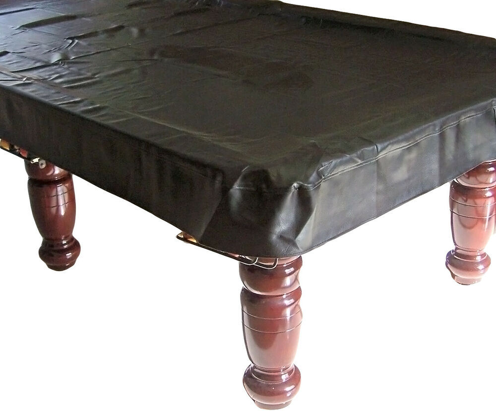 QUALITY 7ft foot Pool Snooker Billiard Table Cover BLACK