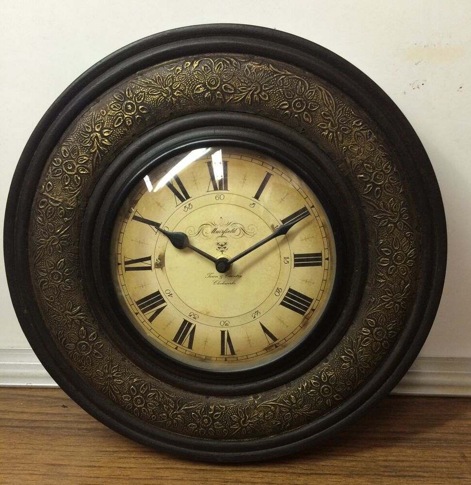 Vintage European Style Wall Clock Artistic Timepieces