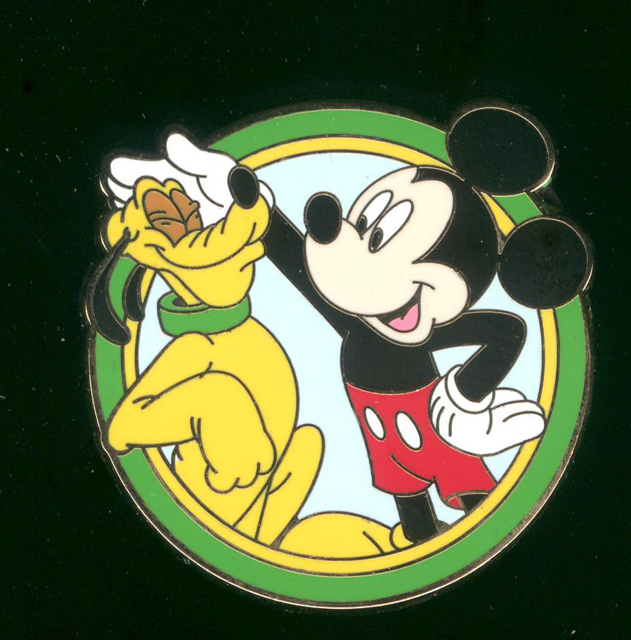 Best Friends Mystery Pack Mickey Mouse and Pluto Disney Pin 90193 | eBay