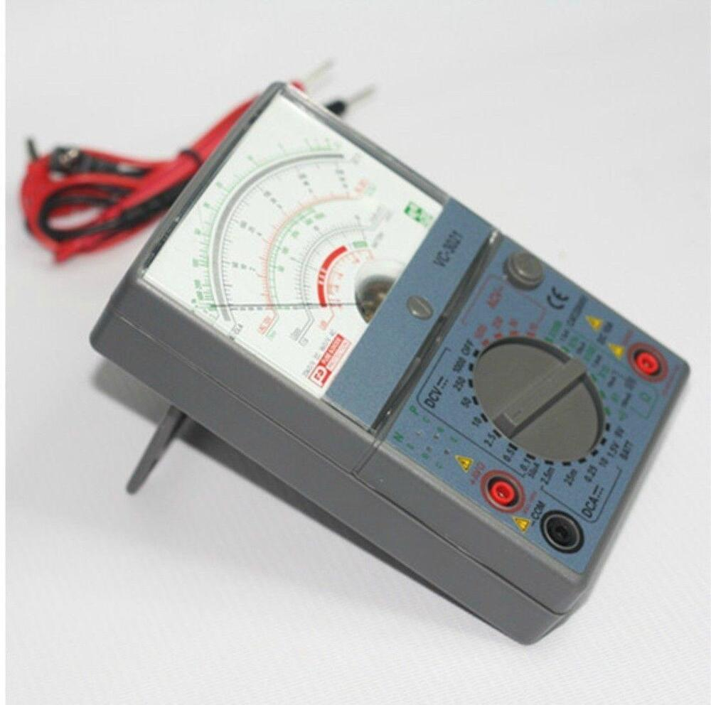 L De Voltage Meter : Vc victor analog multimeter analogic meter ac dc ohm