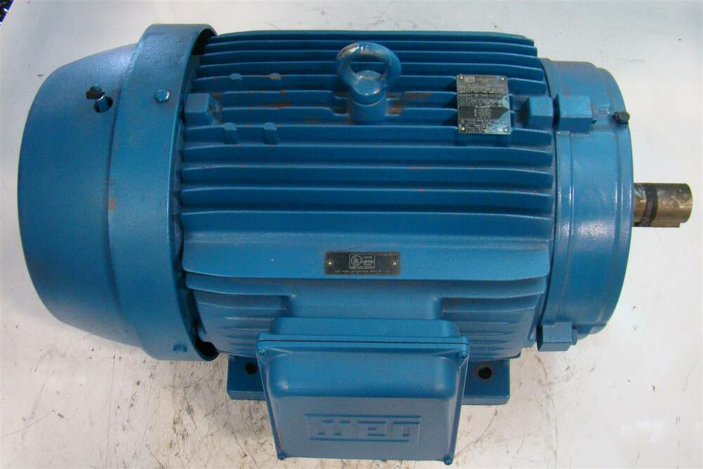 Weg W21 Electric Motor 3ph 380v 2955rpm 40hp