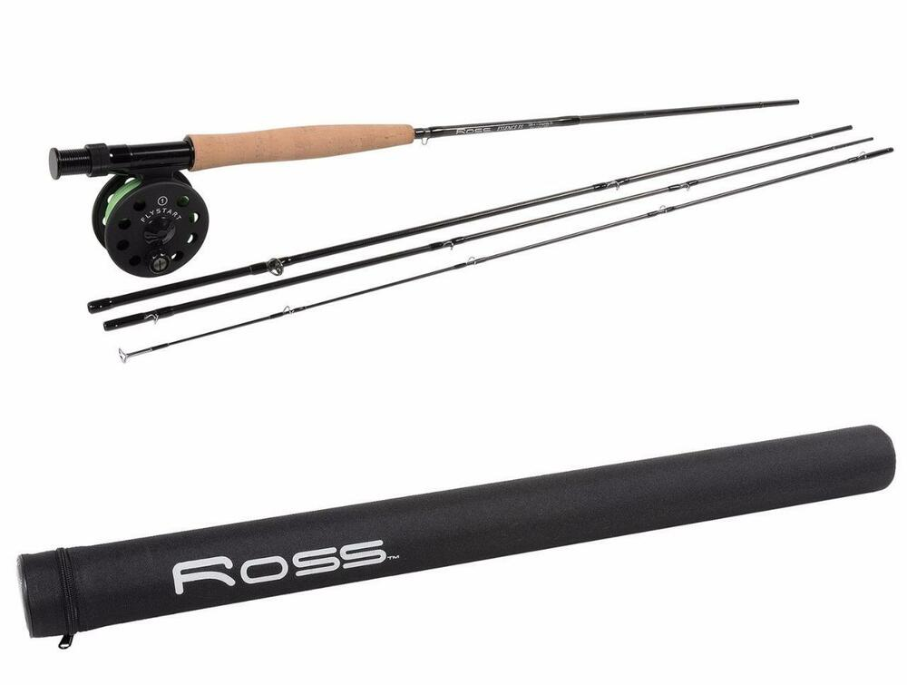 New ross reels essence fs outfit fly fishing rod reel for Fly fishing rods