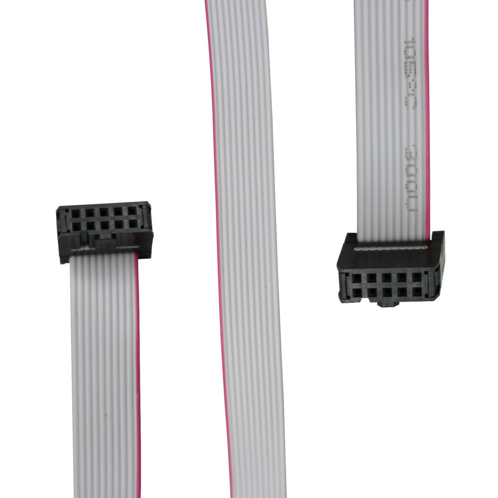 1pcs Idc 10pin Hard Drive Data Extension Wire Flat Ribbon