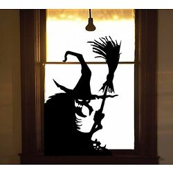 Wicked Witch #11 - Halloween Wall or Window Decal