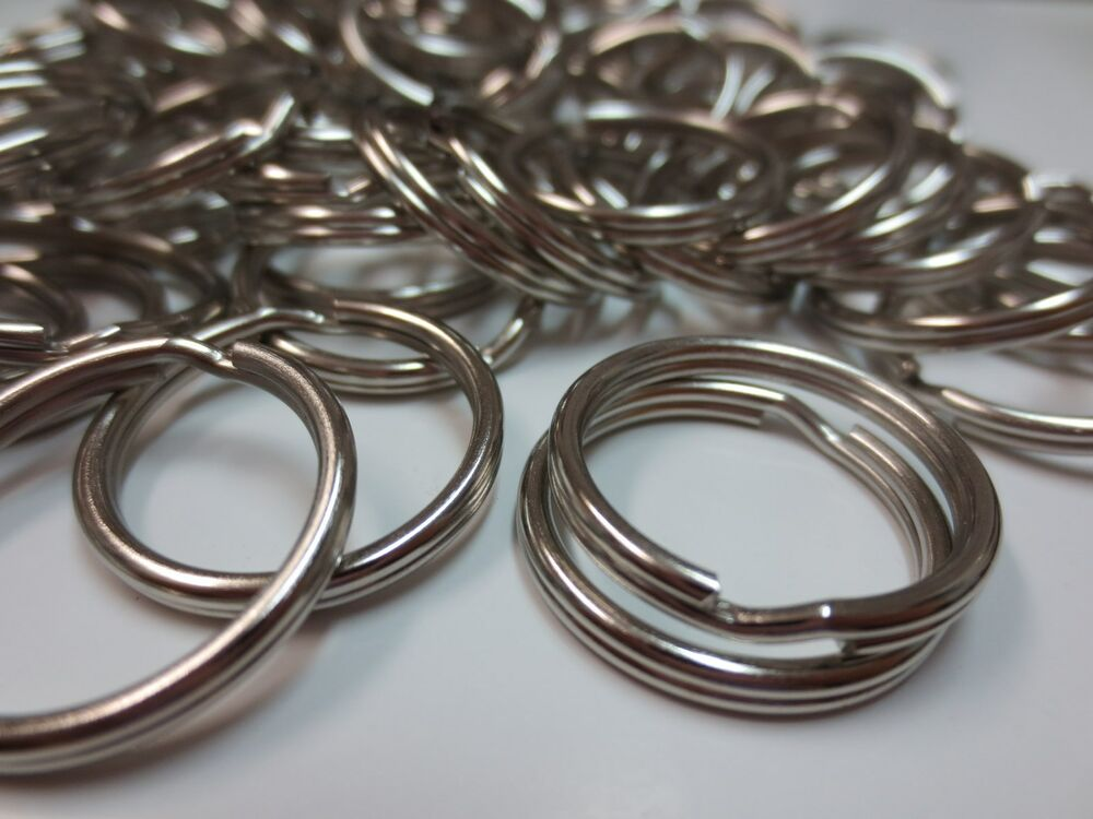 Lot 1000 pc 3 4 21mm split rings gift craft key rings for 3 inch rings for crafts