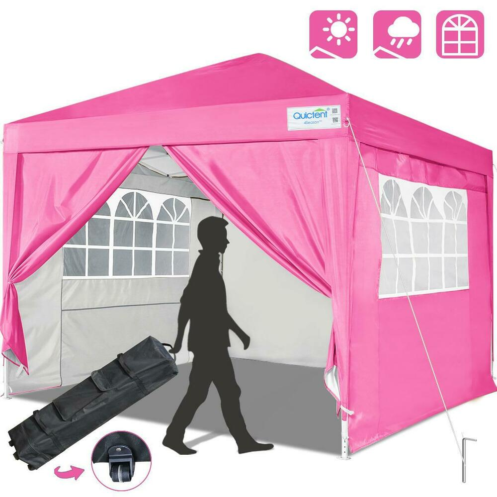 Ez Up Canopy 10x10 : Quictent silvox ez pop up canopy gazebo party tent