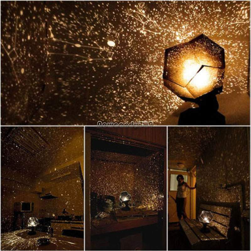 Romantic Adult Science 4 Seasons Star Projection Lamp