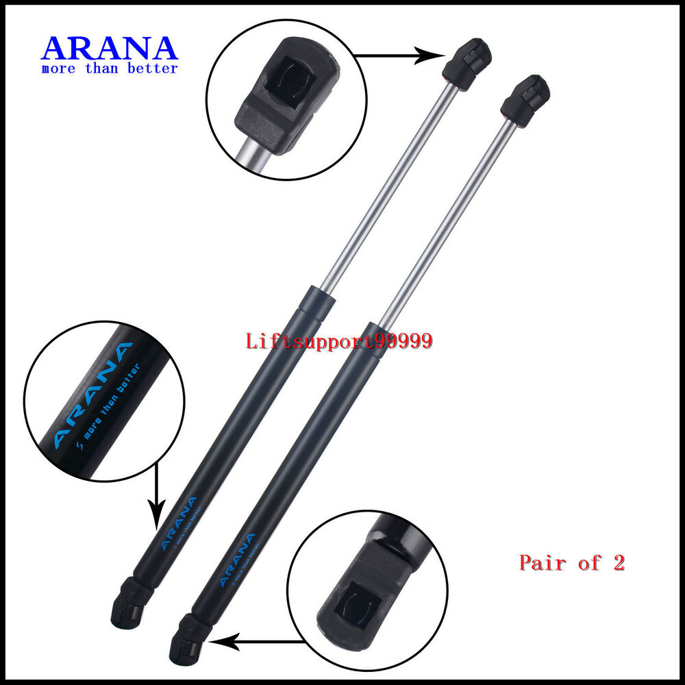 2 Front Hood Gas Lift Supports Struts Spring Shocks For 03