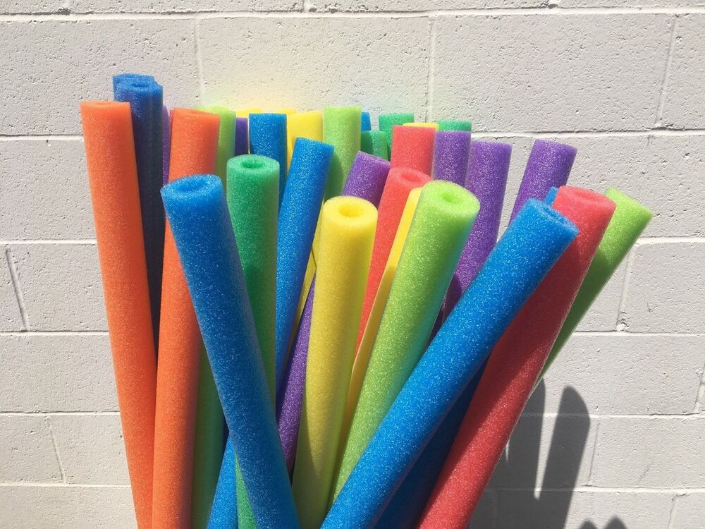 4 Pieces Pool Noodles Water Floating Foam Therapy Craft Random Colors Ebay