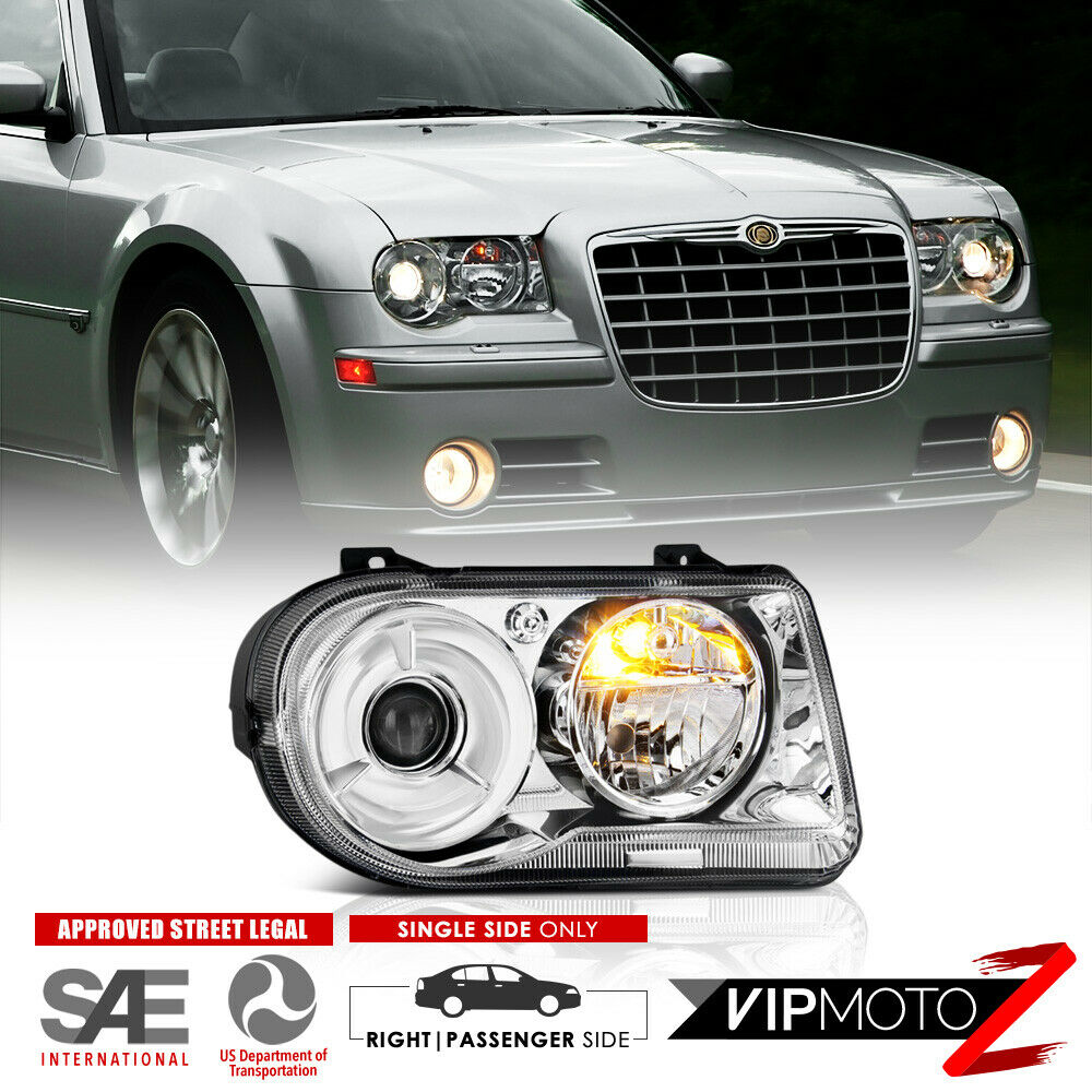 05 10 chrysler 300c factory style projector headlights. Black Bedroom Furniture Sets. Home Design Ideas