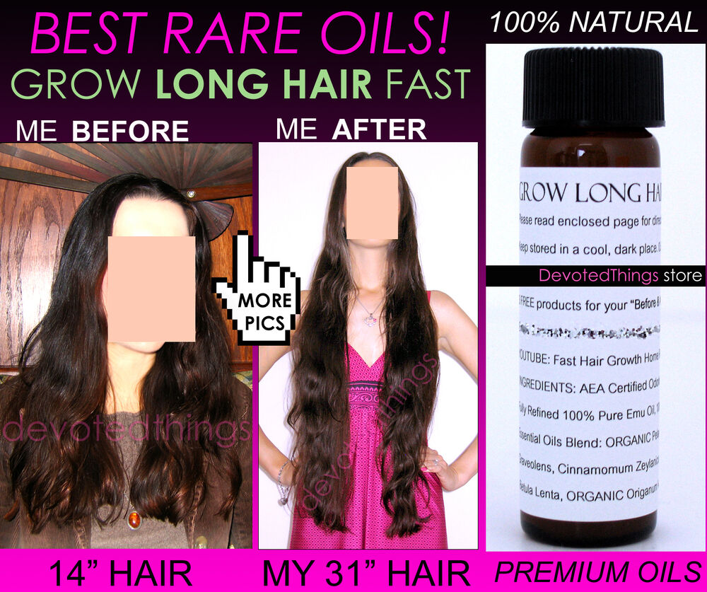 How To Make Natural Hair Grow Fast And Long