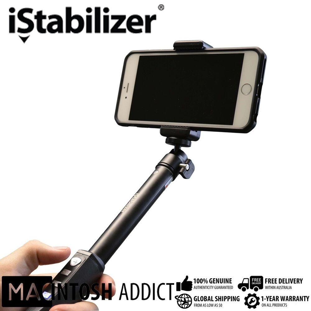istabilizer premium bluetooth monopod selfie stick for iphone android 3 1ft ebay. Black Bedroom Furniture Sets. Home Design Ideas