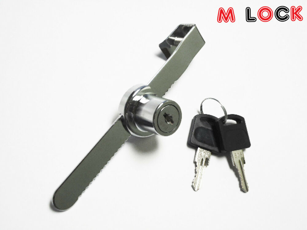 Sliding Door Ratchet Lock For Glass Sliding Door Showcase