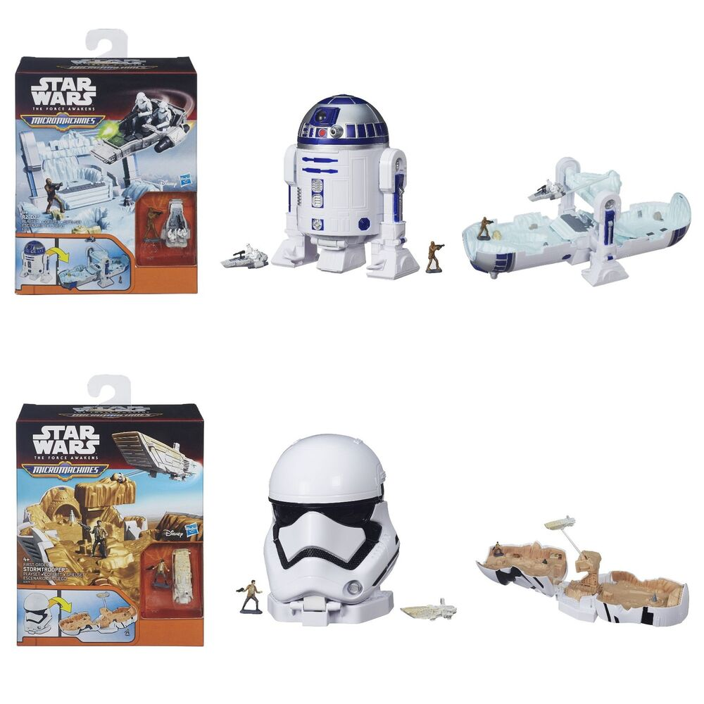 Avatar 2 Toys Ebay: Star Wars The Force Awakens Micro Machines R2D2 Or Storm
