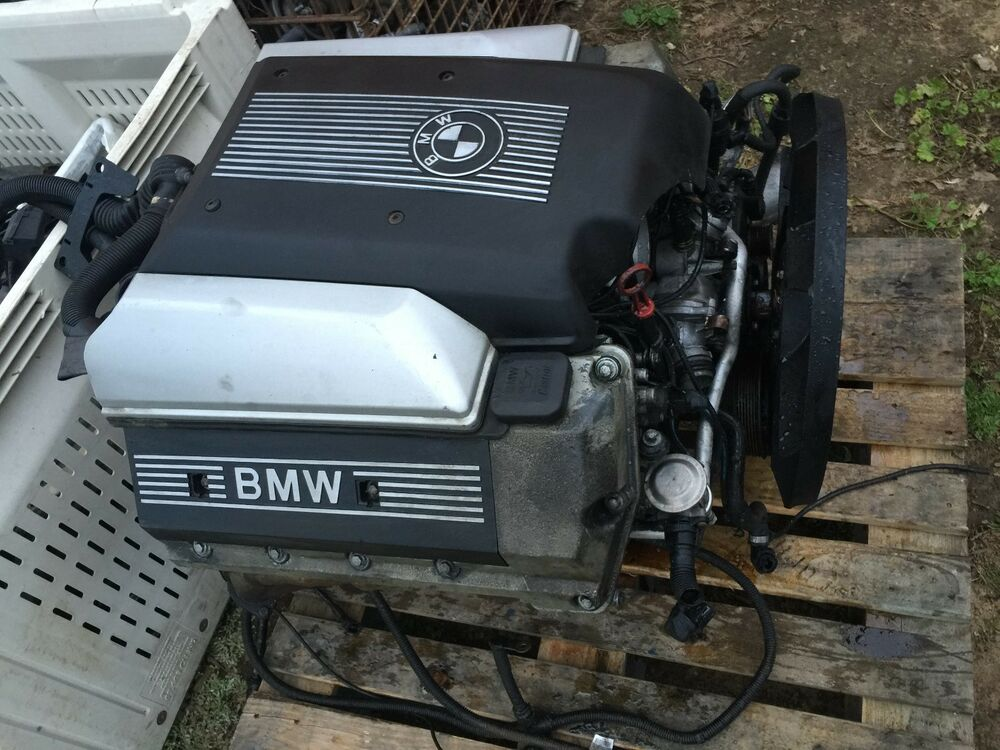 2002 2003 bmw e53 x5 4 6 liter v8 engine motor 151k ebay. Black Bedroom Furniture Sets. Home Design Ideas