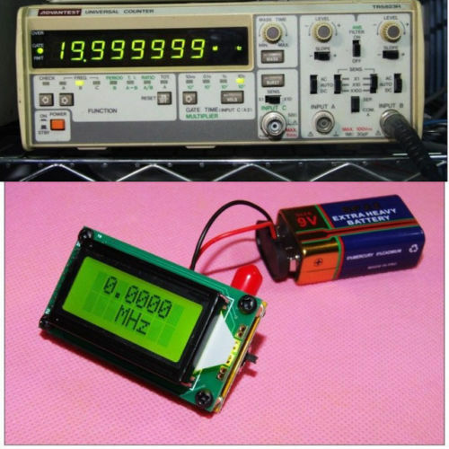 High Frequency Meter : High precision frequency counter meter mhz digital