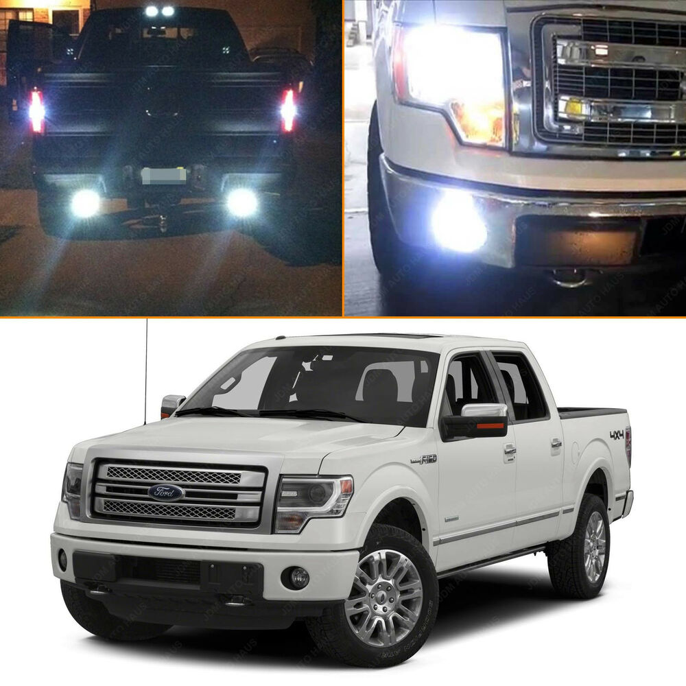 17x White Led Interior Exterior Light Package Kit 2009 2014 Ford F150 F 150 Ebay