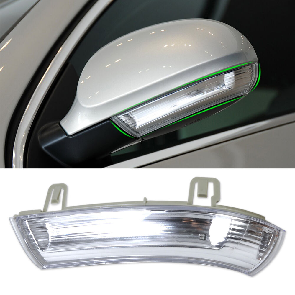 Left Mirror Turn Signal Light Indicator Perfect Fit For Vw