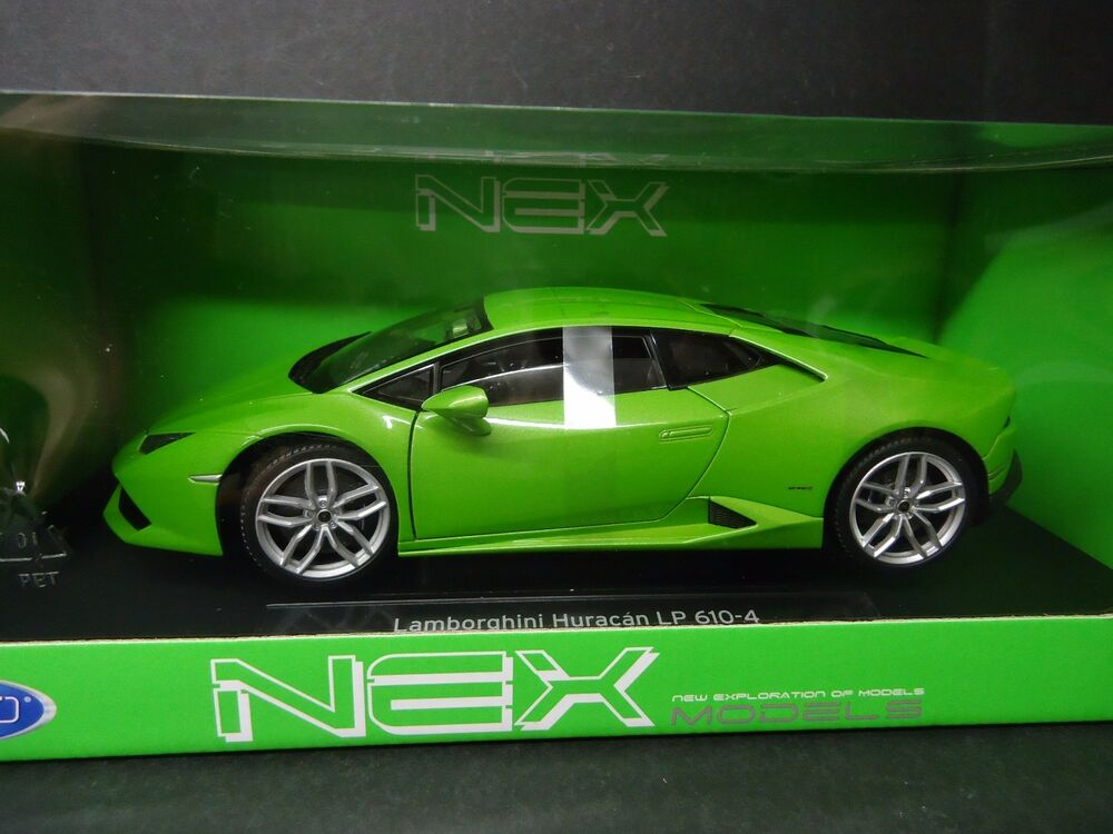 welly lamborghini huracan lp610 4 green 1 18 ebay. Black Bedroom Furniture Sets. Home Design Ideas