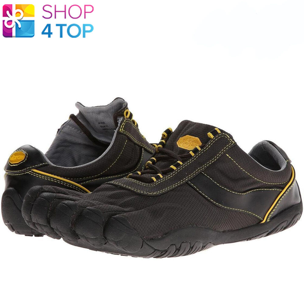 vibram speed xc m3683 fivefingers mens shoes black yellow