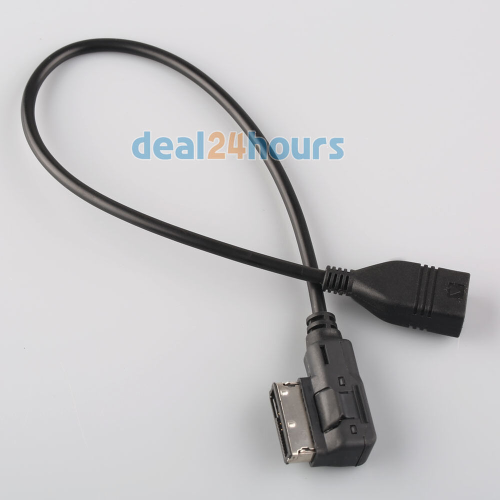 music interface ami mmi aux to usb adapter cable for audi. Black Bedroom Furniture Sets. Home Design Ideas