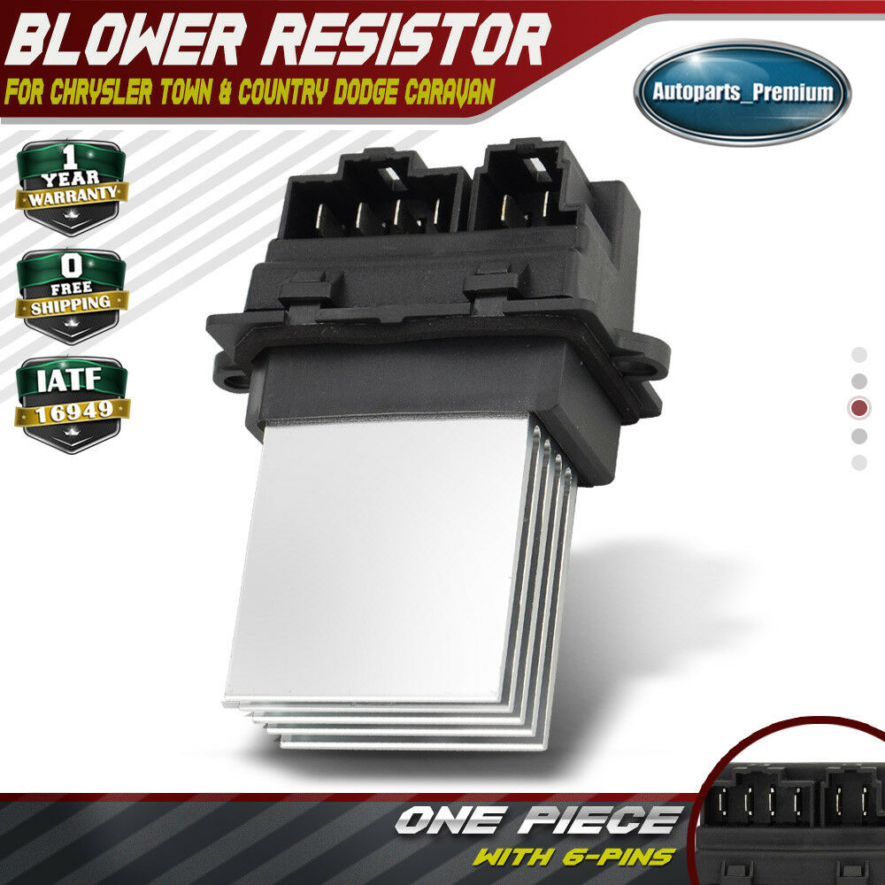 Blower motor fan resistor for chrysler town country for Blower motor dodge caravan