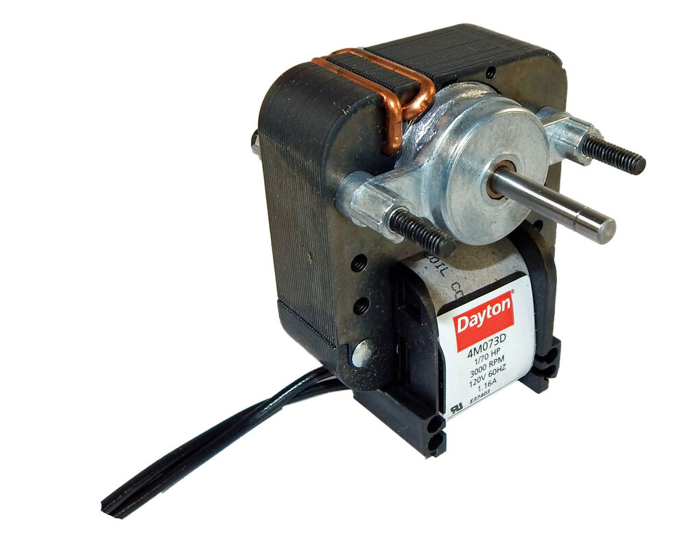 dayton electric c frame vent fan motor 1 70 hp 3000 rpm