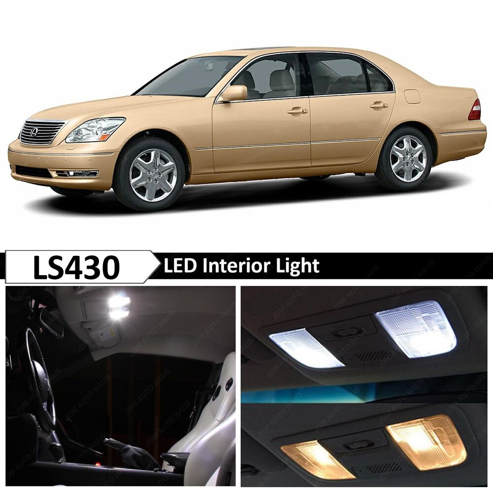 20x White Led Lights Interior Package Kit For 2001 2006 Lexus Ls430 Ls 430 Ebay