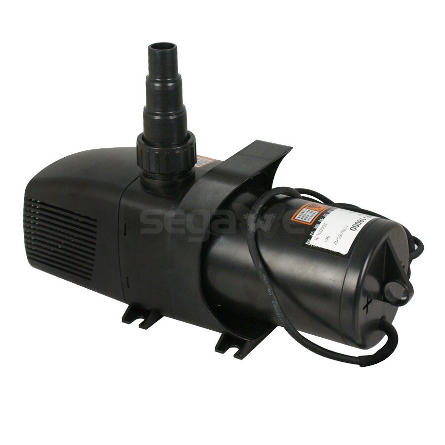 Pond pump water fountain waterfall pump 5283 gph for Pool pump for koi pond