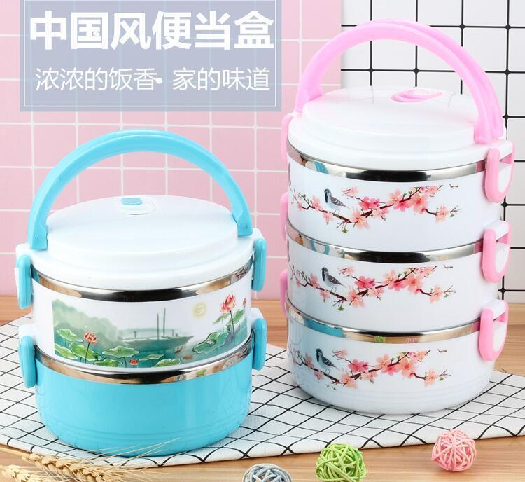 japanese cartoon stainless steel bento box food container insulation lunch box ebay. Black Bedroom Furniture Sets. Home Design Ideas
