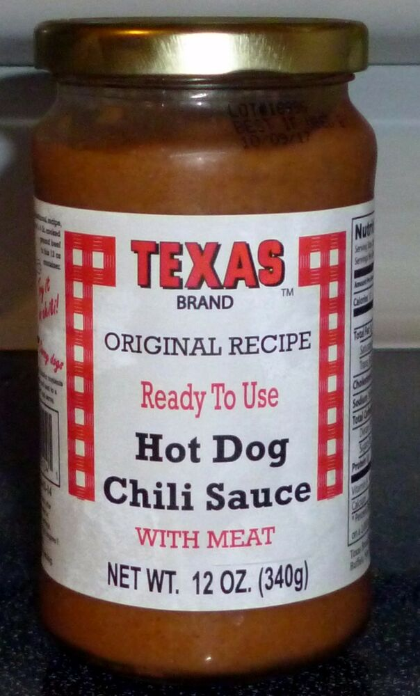 Hot Dog Chili Sauce No Meat