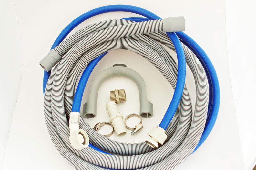 washing machine drain extension hose kit