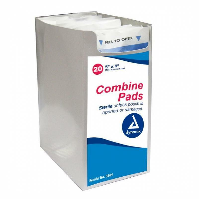 First Aid Sterile Dressing Dynarex 3501 Combine A...