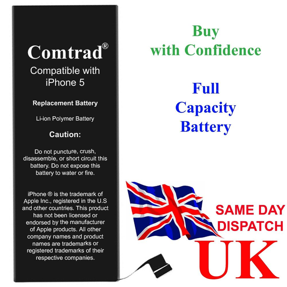 replacement battery for iphone 5 apn 616 0613 0610 0611 ebay. Black Bedroom Furniture Sets. Home Design Ideas