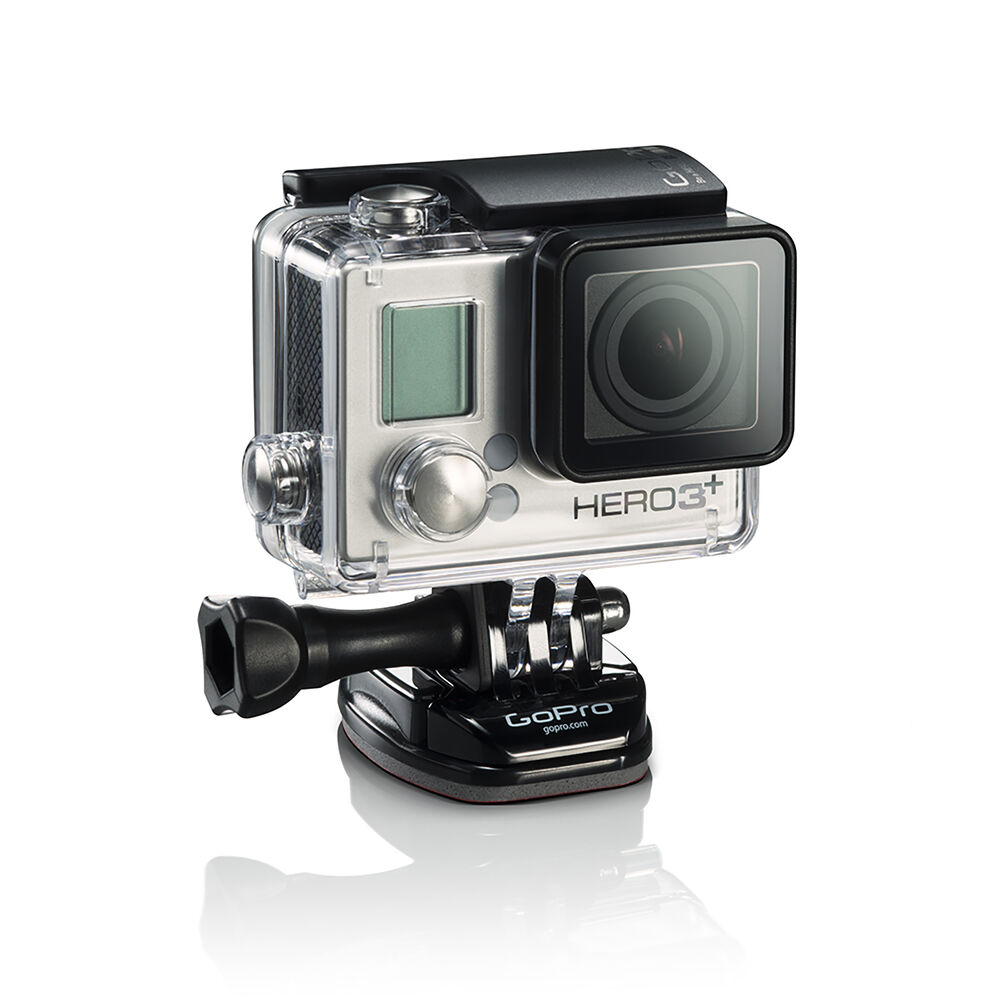 gopro hero 3 silver edition action camera camcorder certified refurbished ebay. Black Bedroom Furniture Sets. Home Design Ideas