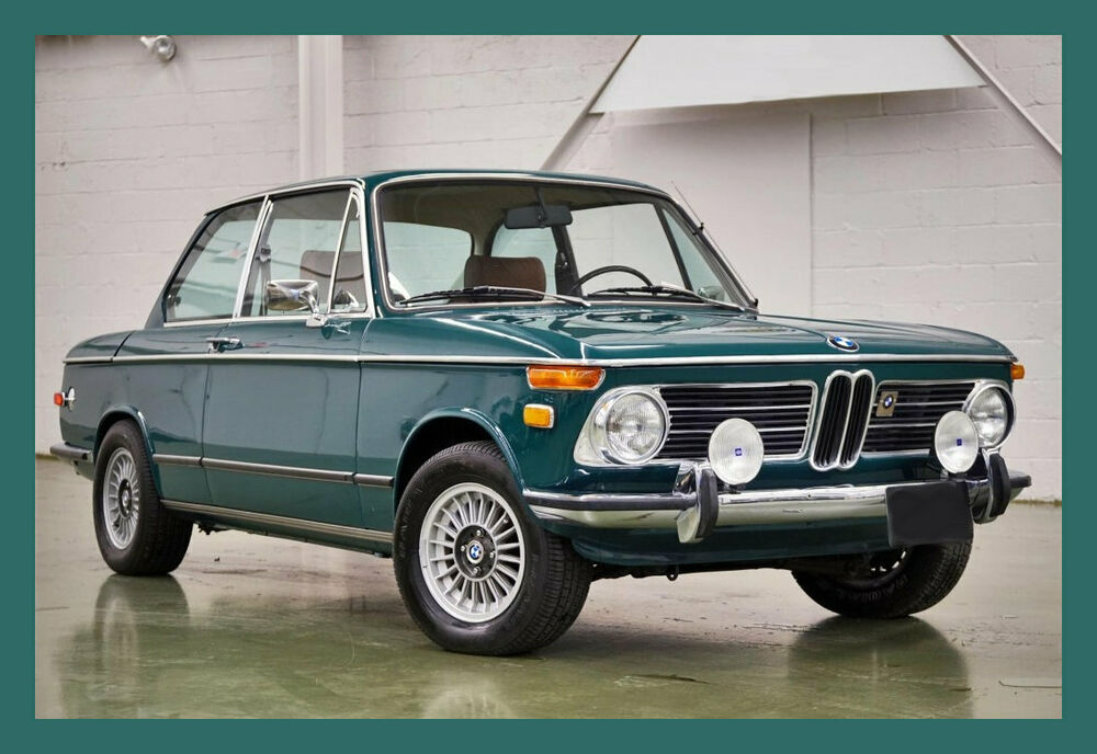 1972 bmw 2002 tii coupe refrigerator magnet 40 mil ebay. Black Bedroom Furniture Sets. Home Design Ideas