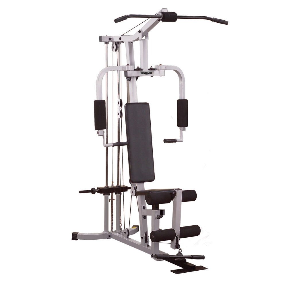 Powerline PHG1000X Home Gym Plate Loaded Compact Fitness ...