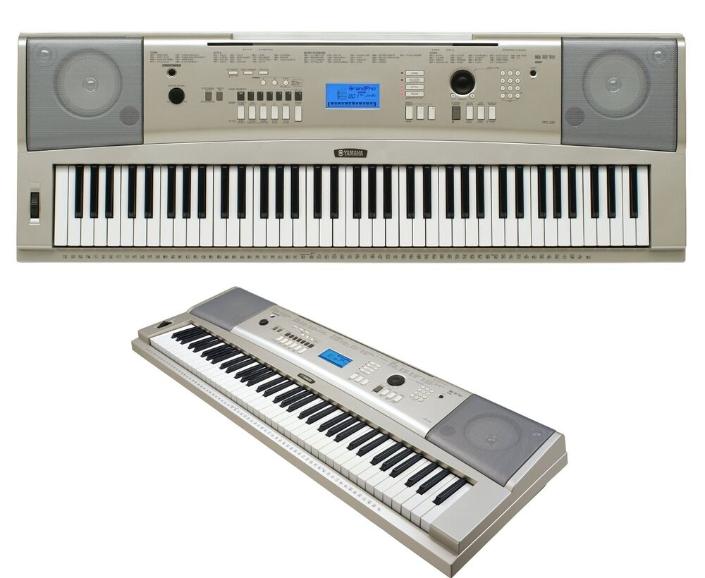 Yamaha portable keyboard piano computer usb electronic for Www yamaha keyboards