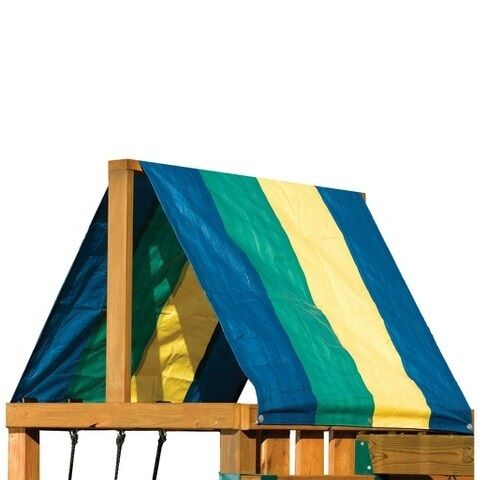 Multicolor Canopy Swing N Slide Replacement Tarp Roof