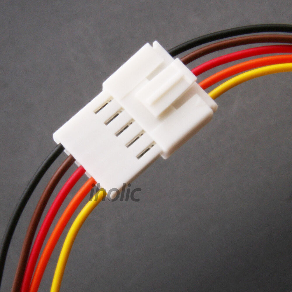 5 Wire Wiring Harness Books Of Diagram Trailer 1pcs Small Pin Terminal Lead Jack And