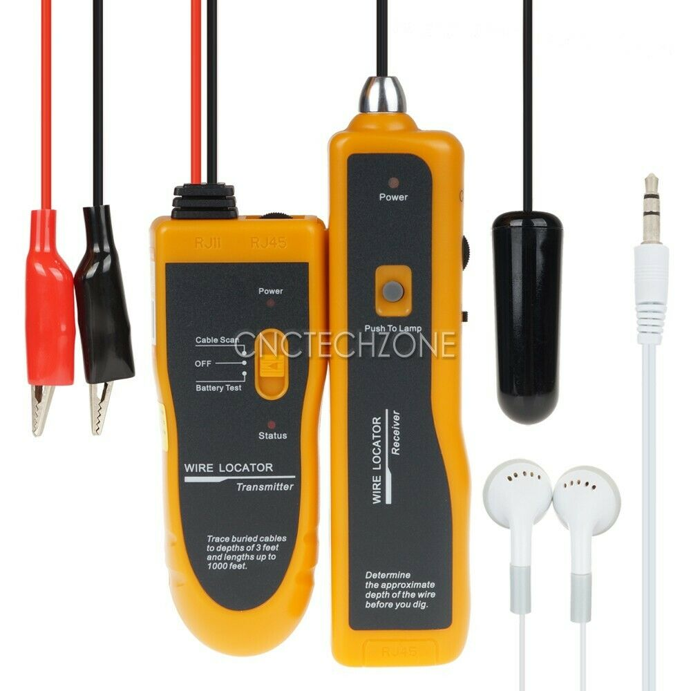 Underground Wire Locator Cable Tracker For Invisible Fence