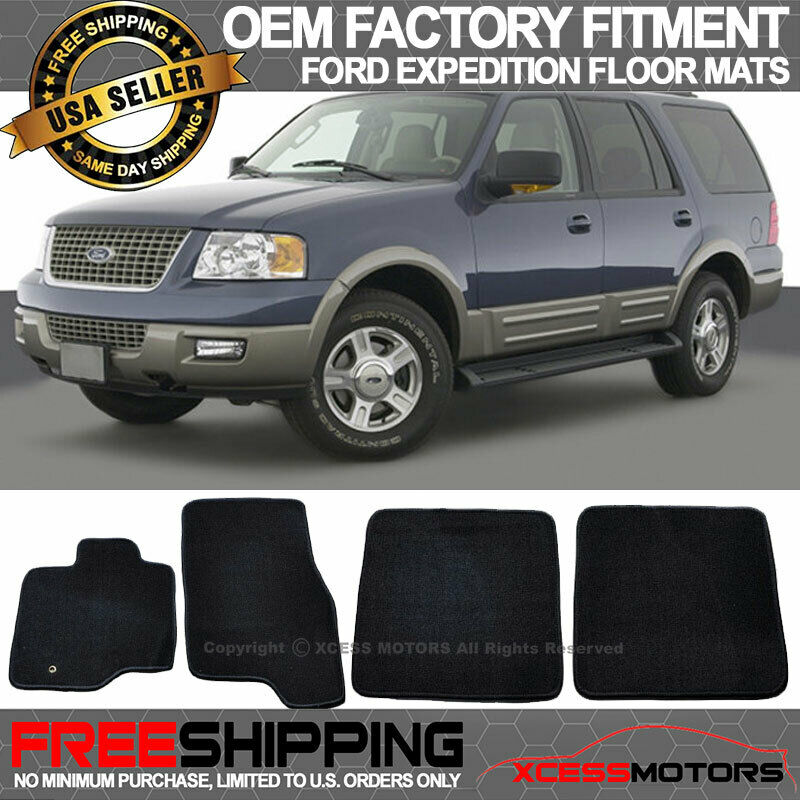 2009 Ford Expedition Exterior: 03-10 Ford Expedition Factory Cutting Floor Mats Carpet