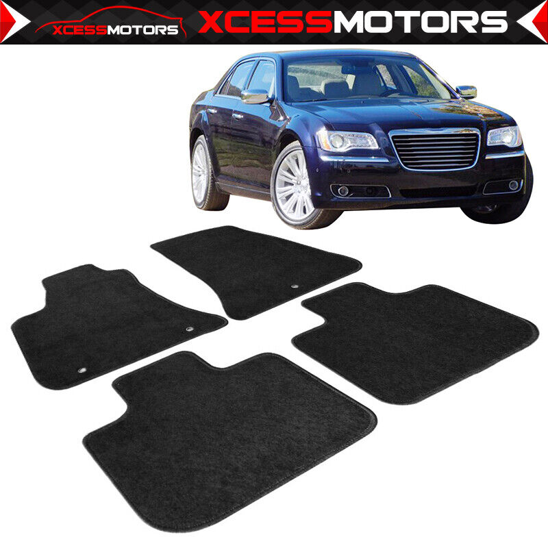 Fit 11-16 Awd Chrysler 300 OE Factory Fit Floor Mats