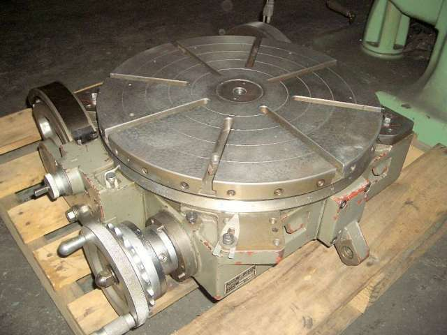 Nikken 19 Quot Manual Tilting Rotary Table Center Height 11 33