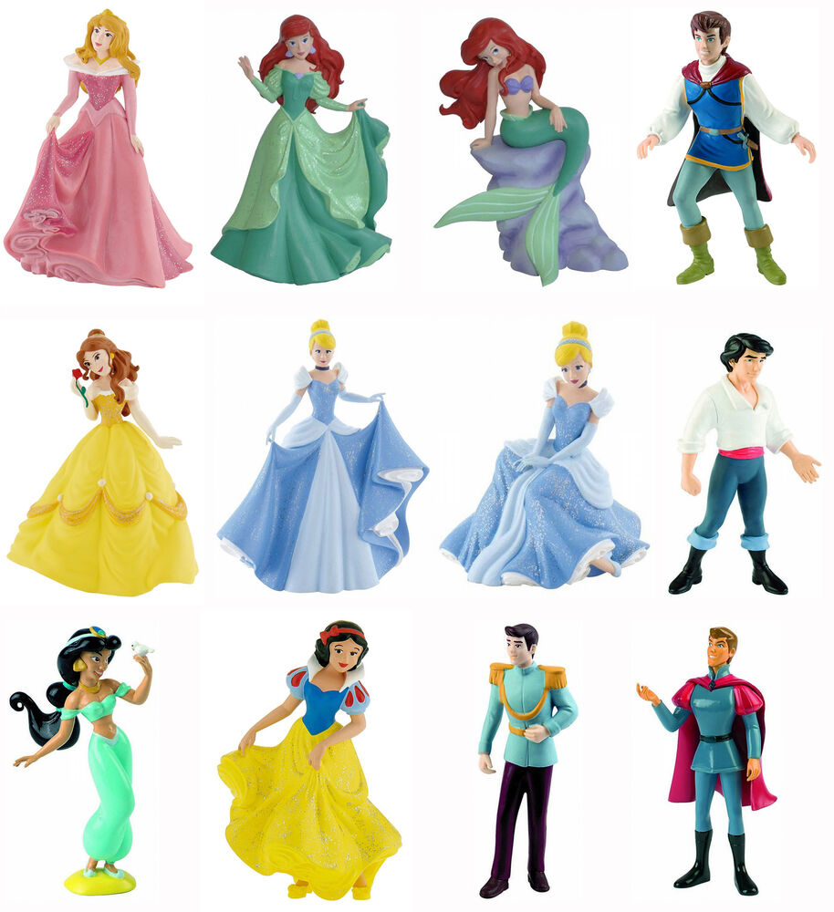 bullyland disney princess figures cake toppers cinderella. Black Bedroom Furniture Sets. Home Design Ideas