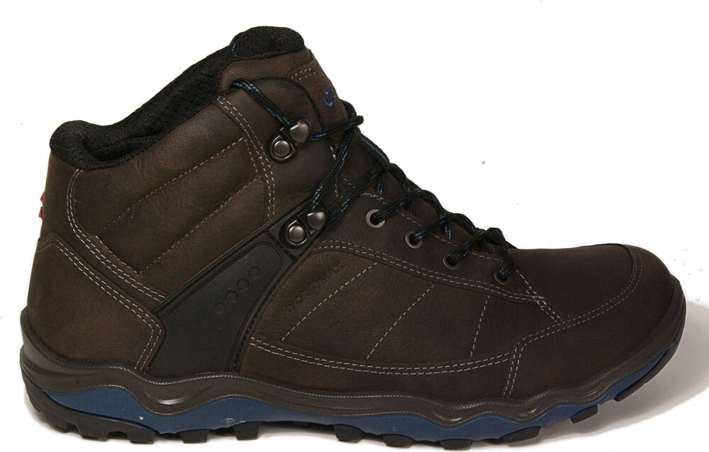 ECCO shoes ULTERRA hiking boots Yak leather brown HYDROMAX NEW | eBay